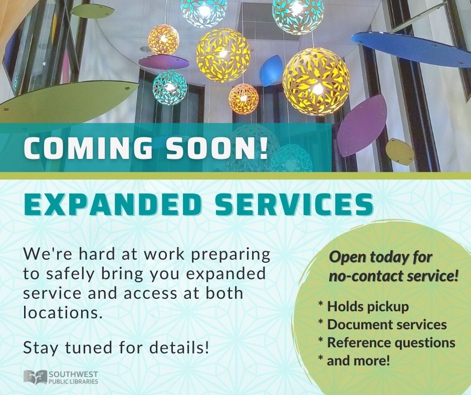Expanded Services Mar 2021 Coming Soon socialmedia